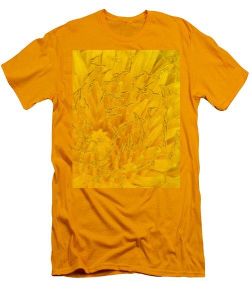 Dandelion Up Close Men's T-Shirt (Athletic Fit)