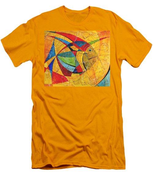 Fish V Men's T-Shirt (Athletic Fit)