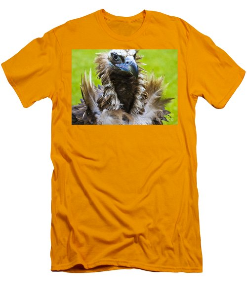 Monk Vulture 4 Men's T-Shirt (Slim Fit) by Heiko Koehrer-Wagner