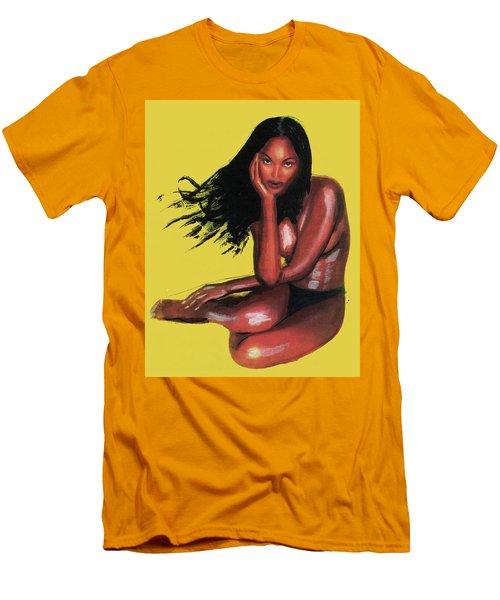 Naomi Campbell Men's T-Shirt (Athletic Fit)