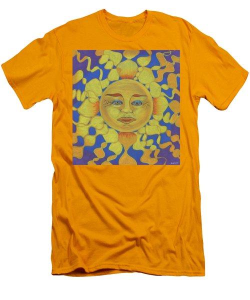 Old Man Sun Men's T-Shirt (Athletic Fit)