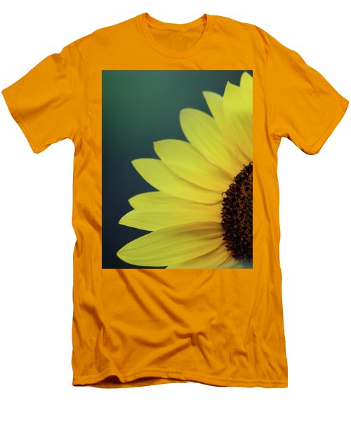 Men's T-Shirt (Slim Fit) featuring the photograph Pedals Of Sunshine by Cathie Douglas