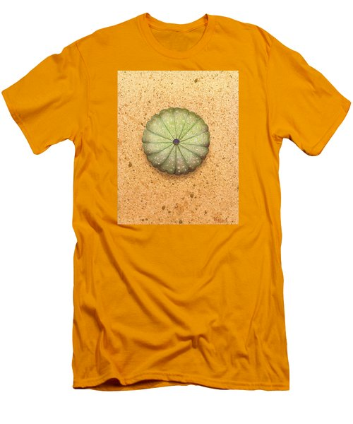 Sea Urchin Men's T-Shirt (Slim Fit) by Katherine Young-Beck