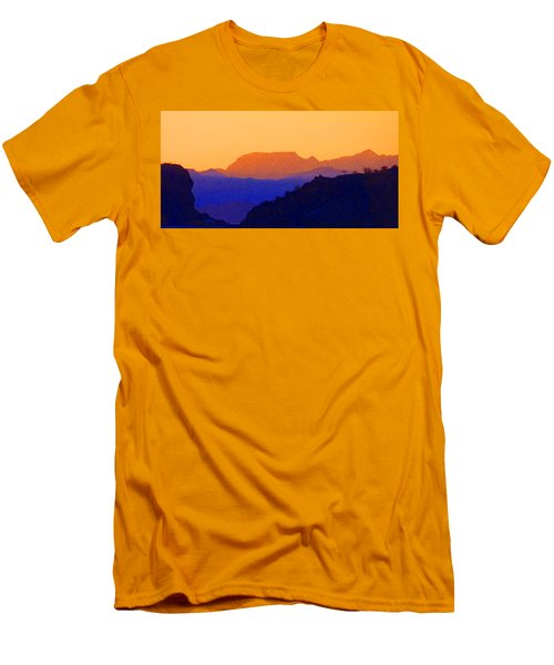 Sunset Over The Sierra Gigantes Men's T-Shirt (Athletic Fit)