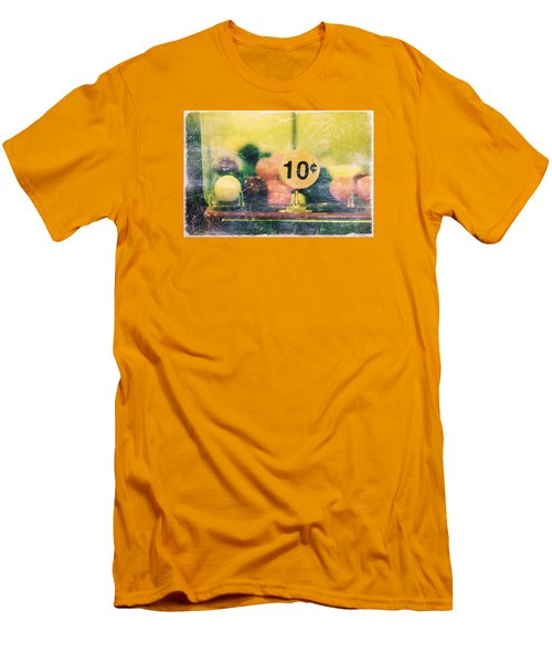 Men's T-Shirt (Slim Fit) featuring the photograph Ten Cent Candy by Toni Hopper
