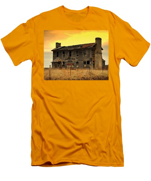 Men's T-Shirt (Slim Fit) featuring the photograph Times Past by Marty Koch