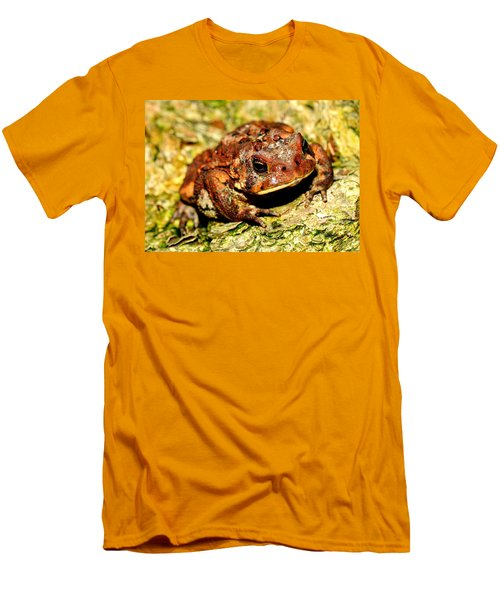 Men's T-Shirt (Slim Fit) featuring the photograph Toad by Joe  Ng