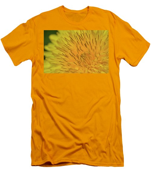 Men's T-Shirt (Slim Fit) featuring the photograph Yellow Beauty by JD Grimes