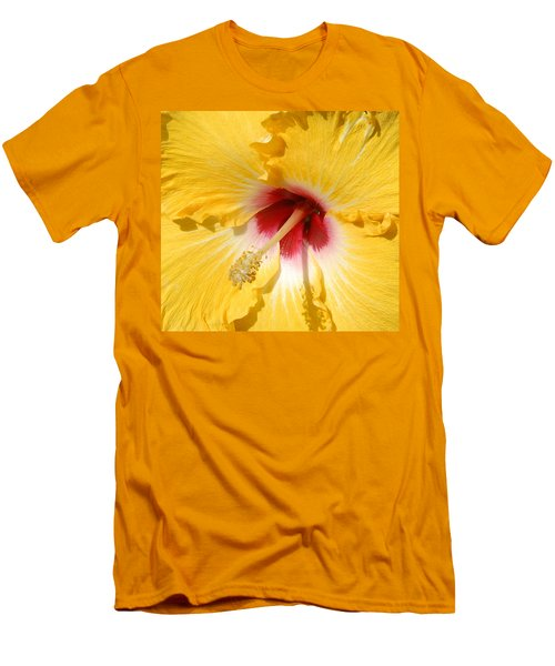 Men's T-Shirt (Slim Fit) featuring the photograph Yellow Fellow by Cindy Manero