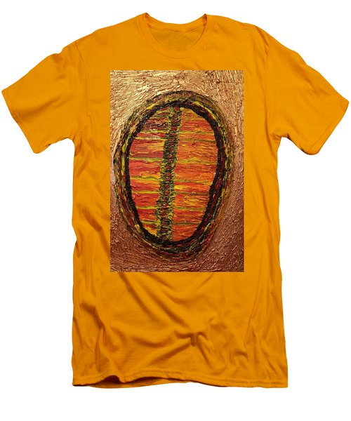 Convergence Of Nature Men's T-Shirt (Slim Fit) by Darrell Black