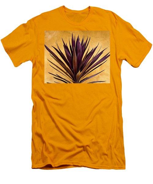 Purple Giant Dracaena Santa Fe Men's T-Shirt (Athletic Fit)
