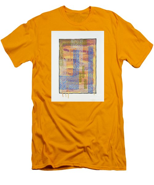01327 Men's T-Shirt (Slim Fit) by AnneKarin Glass