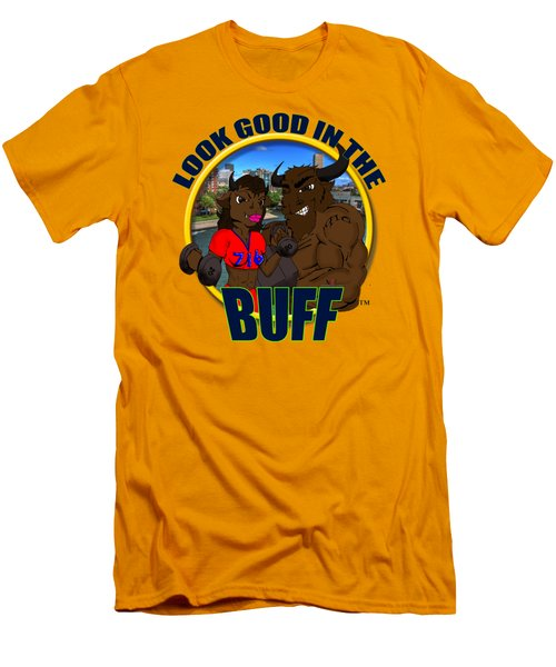 02 Look Good In The Buff Men's T-Shirt (Athletic Fit)