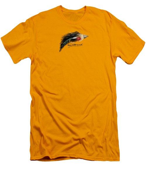 Black Conehead Zuddler Men's T-Shirt (Slim Fit) by Jean Pacheco Ravinski