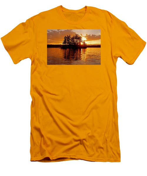 Men's T-Shirt (Slim Fit) featuring the photograph Clarity Of Spirit by Lynda Lehmann