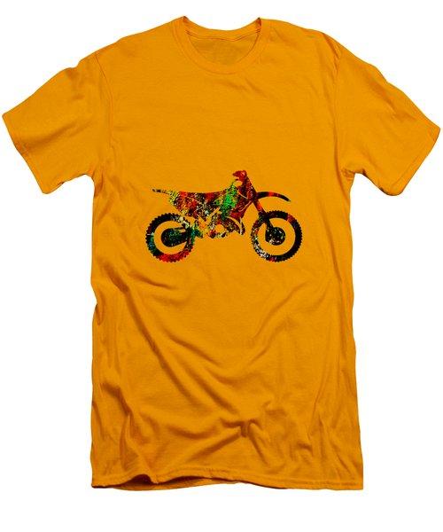 Dirt Bike Collection Men's T-Shirt (Athletic Fit)
