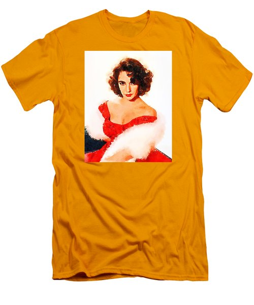 Elizabeth Taylor Men's T-Shirt (Slim Fit) by John Springfield