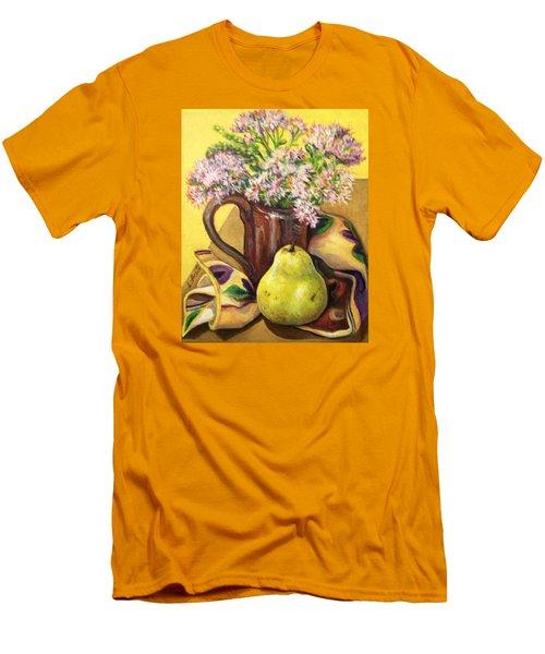 Fall Still Life Men's T-Shirt (Slim Fit) by Laura Aceto