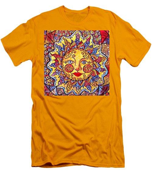 Fiesta Sun Men's T-Shirt (Slim Fit) by Megan Walsh