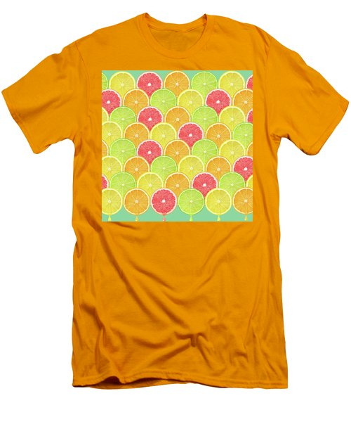 Fresh Fruit  Men's T-Shirt (Athletic Fit)