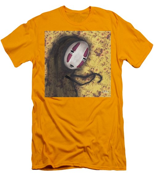 No Face Men's T-Shirt (Slim Fit) by Abril Andrade Griffith