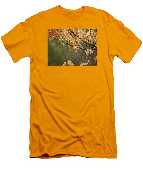 Men's T-Shirt (Slim Fit) featuring the photograph November Rain by Edwin Alverio