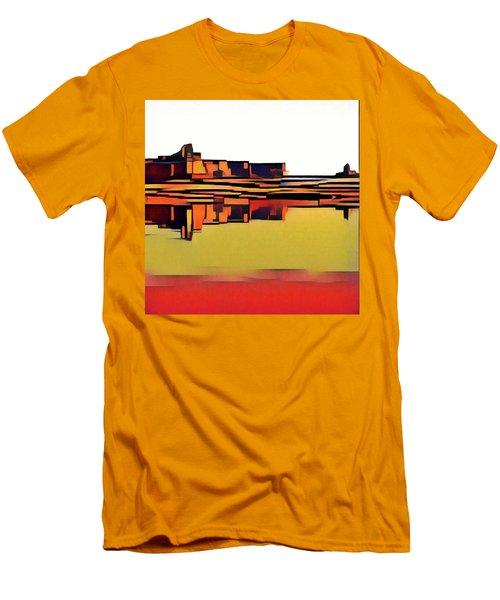 Padre Bay Men's T-Shirt (Slim Fit) by David Hansen
