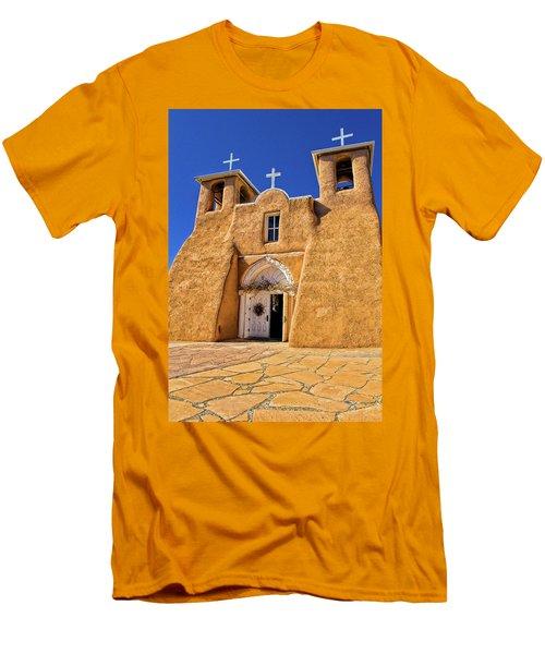 Ranchos De Taos Church  Men's T-Shirt (Athletic Fit)