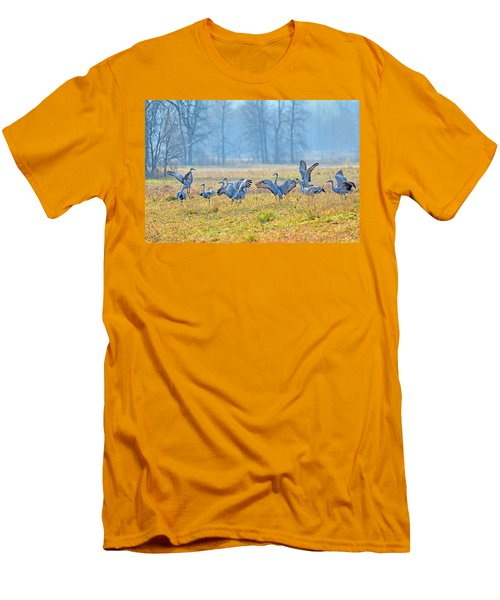 Men's T-Shirt (Slim Fit) featuring the photograph Saturday Night by Tony Beck