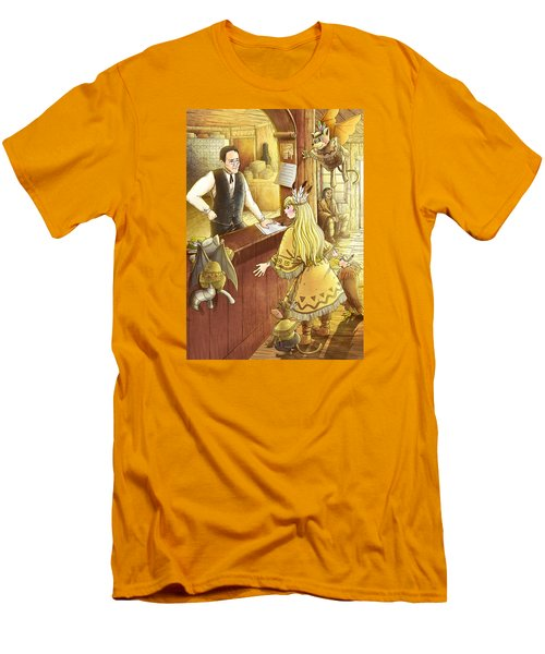 Tammy And The Postmaster Men's T-Shirt (Slim Fit) by Reynold Jay