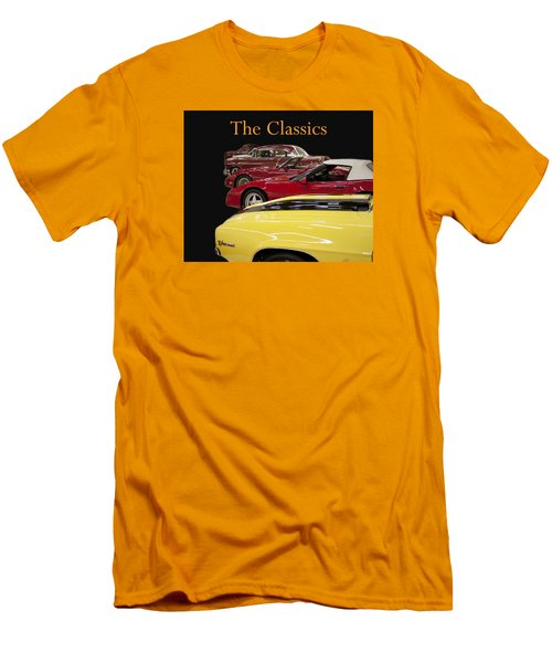 Men's T-Shirt (Slim Fit) featuring the photograph The Classics by B Wayne Mullins