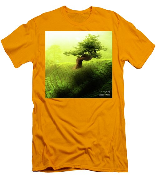 Tree Of Life Men's T-Shirt (Slim Fit) by Mo T