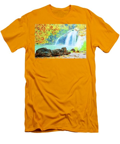 Turner Falls Men's T-Shirt (Athletic Fit)