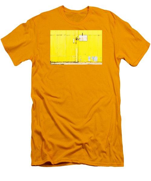 Yellow Metal  Men's T-Shirt (Athletic Fit)