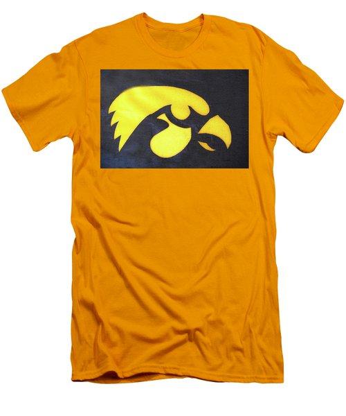 10724  Iowa Hawkeye Men's T-Shirt (Slim Fit) by Pamela Williams