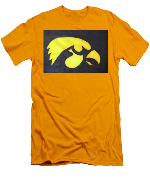 10724  Iowa Hawkeye Men's T-Shirt (Athletic Fit)
