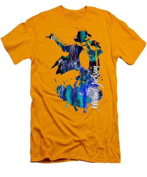 Michael Jackson Collection Men's T-Shirt (Slim Fit)