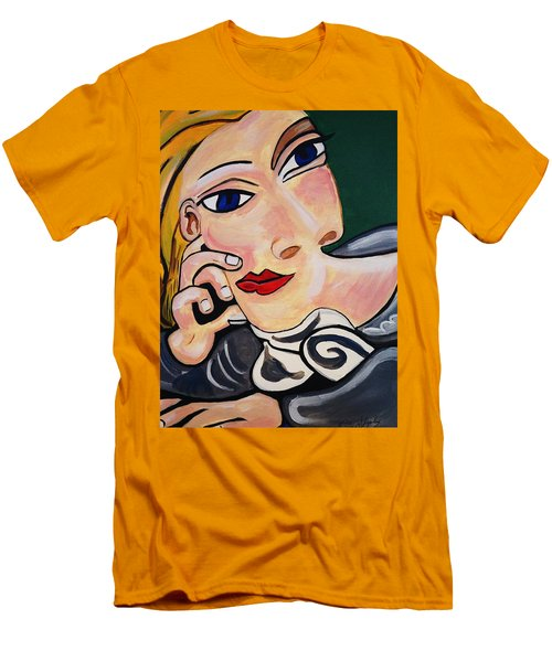 Picasso By Nora Men's T-Shirt (Slim Fit) by Nora Shepley