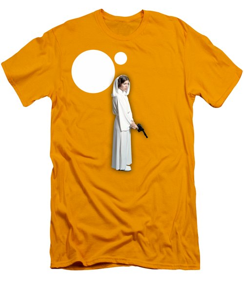 Star Wars Princess Leia Collection Men's T-Shirt (Slim Fit) by Marvin Blaine