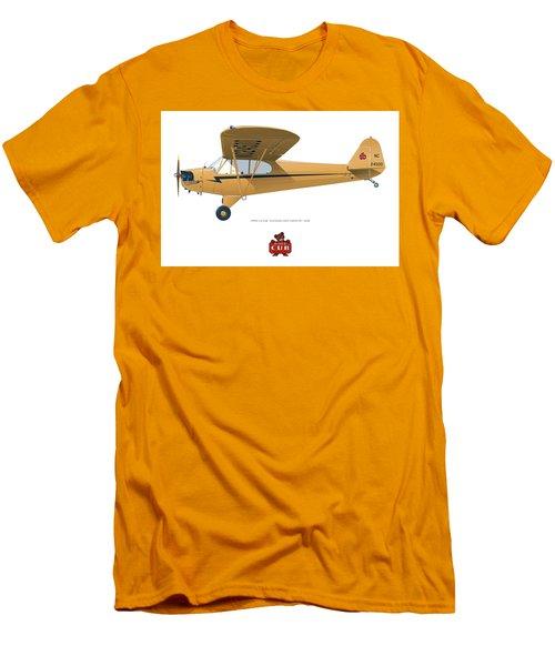 1939 Piper J3 Cub Men's T-Shirt (Athletic Fit)