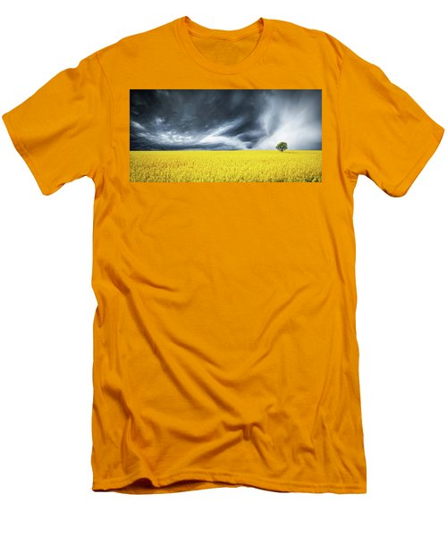 Canola Field Men's T-Shirt (Athletic Fit)
