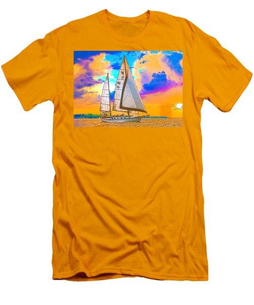 Shannon 38 Men's T-Shirt (Athletic Fit)