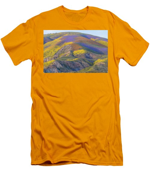 2017 Carrizo Plain Super Bloom Men's T-Shirt (Slim Fit) by Marc Crumpler