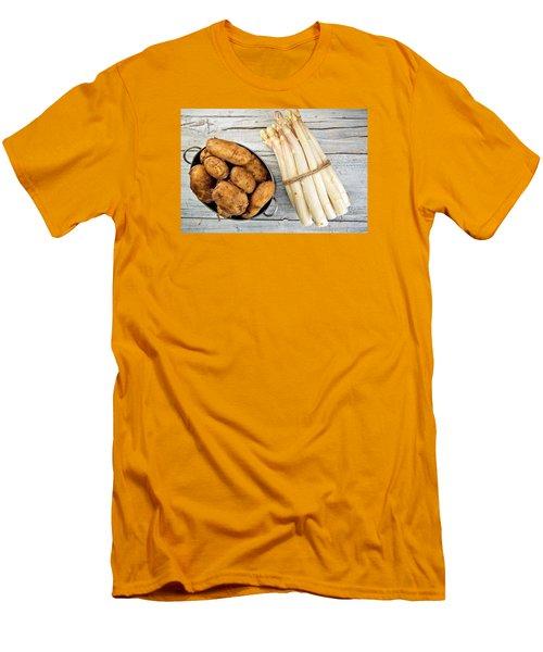 Asparagus Men's T-Shirt (Athletic Fit)