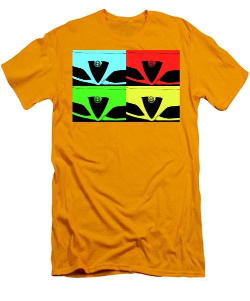 4 C Pop Men's T-Shirt (Slim Fit) by John Schneider