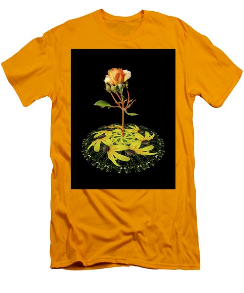 Men's T-Shirt (Slim Fit) featuring the photograph 4407 by Peter Holme III