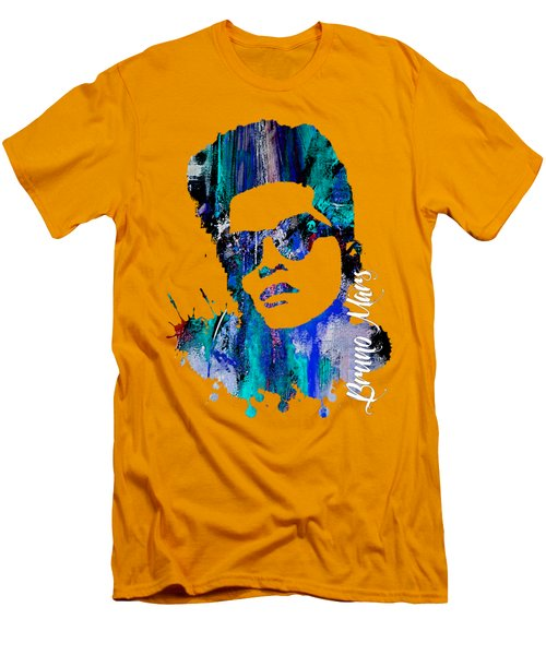 Bruno Mars Collection Men's T-Shirt (Athletic Fit)