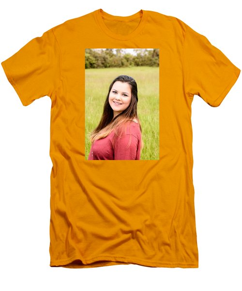 Men's T-Shirt (Slim Fit) featuring the photograph 5617 by Teresa Blanton