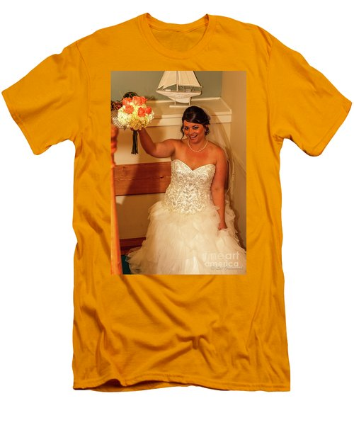 Faulkner Wedding Men's T-Shirt (Athletic Fit)