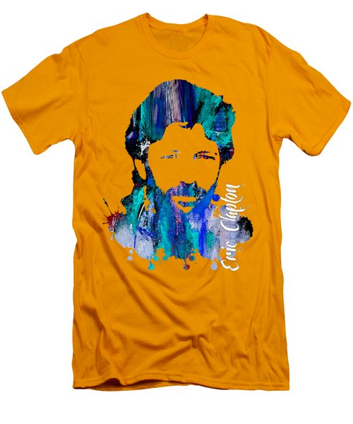 Eric Clapton Collection Men's T-Shirt (Slim Fit) by Marvin Blaine